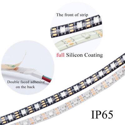 WS2812B Strip LED Lights 5050 RGB 30/60/144 LED/M IC Individual Addressable DC5V 11