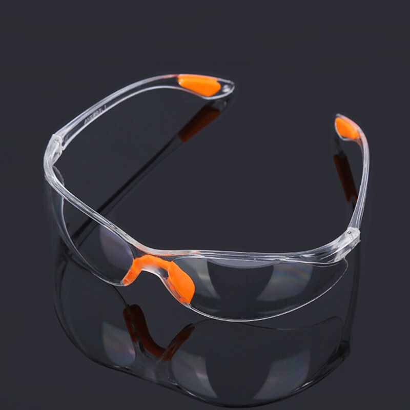 Factory Lab Work Goggles Anti-impact Outdoor Safety Eye Protective Clear Glasses 2