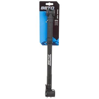 Fahrradpumpe BETO Luftpumpe Rahmenklemmpumpe für alle Ventile 460-530 mm