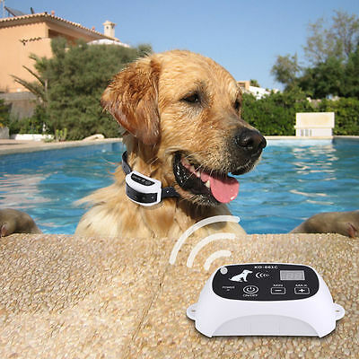 2019 Wireless Dog Fence No-Wire Pet Containment System Rechargeable & Waterproof 2