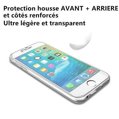 Coque Housse 360 Silicone Integral Pour Samsung S8/s9/s5/s6/s7/edge J3/j5 A5/a8 10
