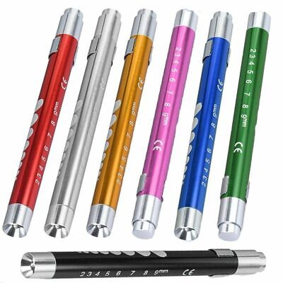 Medical Pen LED Light Pocket Torch Reusable Emergency Doctor Nurse Surgical 2