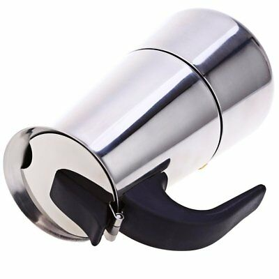 Cafetière Italienne Inox 9 Tasse Espresso Maker Acier Inoxydable 24 X 14 cm 3