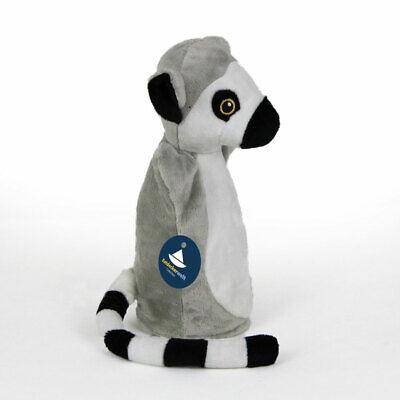 Handpuppe Katta Lemur Kuscheltier Stofftier H. ca. 21cm Plüsch Plüschtier