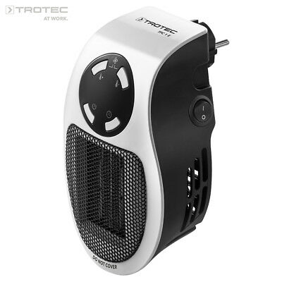 TROTEC Mini Chauffage pour Prise Murale TFC 1 E   Radiateur Soufflant Convecteur 2