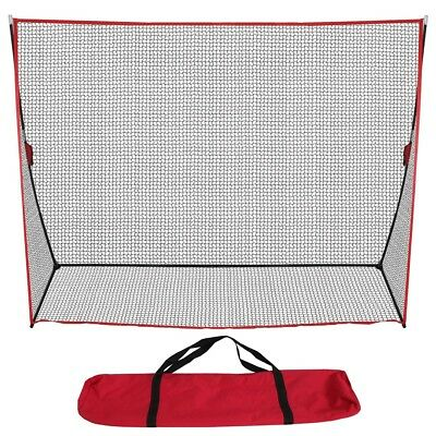 10 x 7FT Portable Golf Hitting Practice Net Driving Training Aids w/ Carry Bag 12