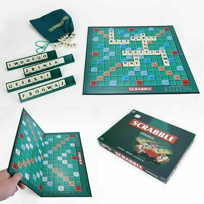 Original Scrabble Board Game Family Kids Adults Educational Toys Puzzle Game UK 2