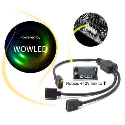 RGB GAMING MAGNET LED Strip Light Kit for Asus Aura Sync PC Case Lighting  Gamer