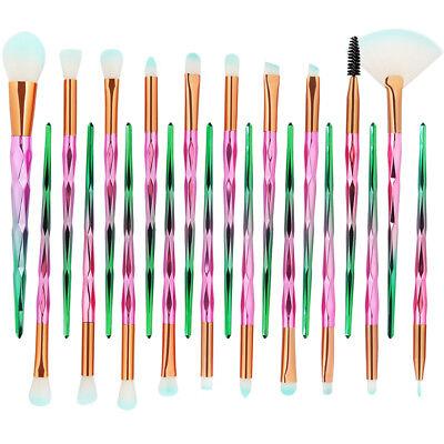 20PCS Kabuki Make up Brushes Makeup Foundation Powder Blusher Eyeshadow Brush AU 7