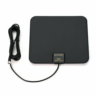 Super Thin Indoor Digital HD TV HDTV Antenna FM/VHF/UHF FREE TV Signals 50 Miles 2