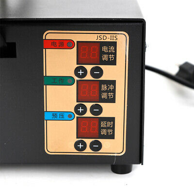 Handheld Battery Pack Spot Welder 3kw Pulse Adjustable Welder Led Light NEW 11