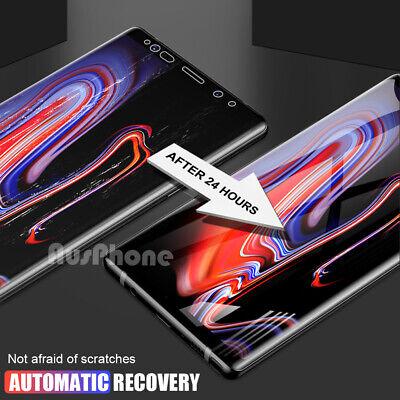 HYDROGEL AQUA FLEX Screen Protector Samsung Galaxy S9 S8 Plus Note 9 8 S7 Edge 6