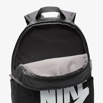 Nike Elemental 2.0 Backpack Black White BA5876 082 School Bag Pack
