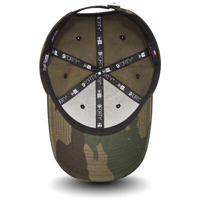 New Era Mens Baseball Cap.9Forty Mlb New York Yankees Army Camo Adjustable Hat 8 3