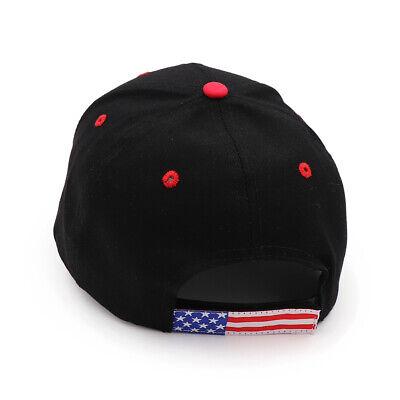 President  Donald Trump 2020 Hat Black USA Flag Make America Great Again Cap w7 7