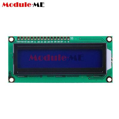 1/2/5/10X 1602 16x2 Character LCD Display Module HD44780 Controller Blue Arduino 2