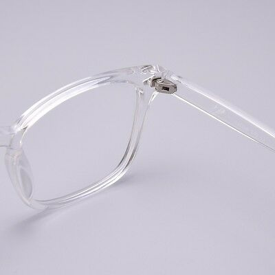83465b6c8ce ... Vintage Men Women Transparent Eyeglass Frame G Spectacles Clear Lens  Eyewear Rx 4