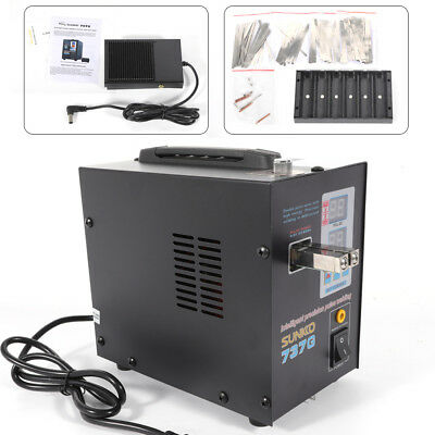 110V  Hand Held SUNKKO 737G Battery Spot Welder with Pulse & Current Display USA 2