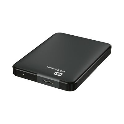 Western Digital Elements Portable 2TB USB 3.0 externe Festplatte 6,35cm 2,5Zoll