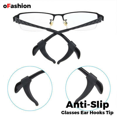 304f6cc3456f ... Silicone Glasses Temple Hook Tip Eyeglasses Ear Grip Anti Slip Holder  Spectacle 5