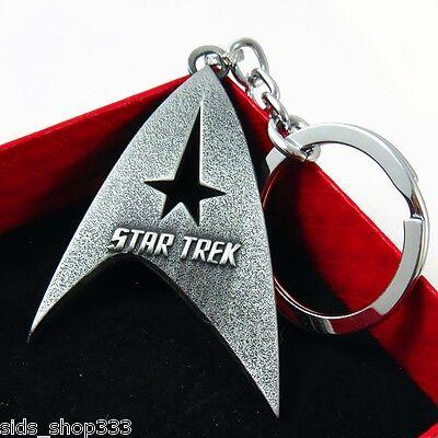 Star Trek Communicator Key chain Antique silver color Collectible gift decor 4