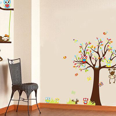 wandtattoo wandsticker kinderzimmer wandaufkleber wanddeko tiere affe 2xxl baby eur 12 75. Black Bedroom Furniture Sets. Home Design Ideas