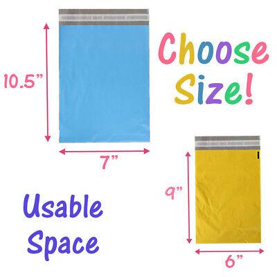 "14.5x19"", 12x15.5,10x13, 7.5x10 Poly Mailers Self Sealing Shipping Bag Envelopes 4"