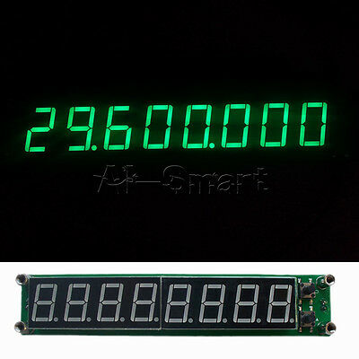 8 Digit 0.1-60MHz 20MHz~2.4GHz RF Signal Frequency Counter Cymometer Tester LED