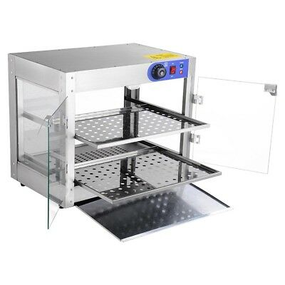 Commercial Food Warmer - Stainless Steel Pizza Pie Hot Display Showcase Cabinet 5