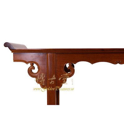 Chinese Vintage Carved Rosewood Altar Table 16LP88 3