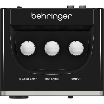 BEHRINGER U-PHORIA UM2 interfaccia scheda audio usb 2x2 + preamp microfonico NEW 2