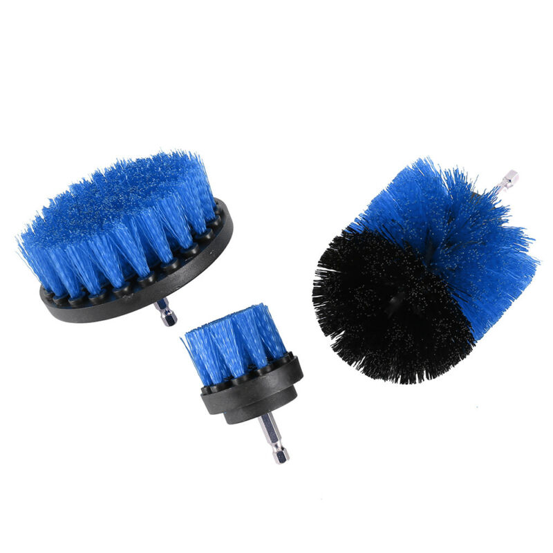 1/3Pcs/Set Cleaning Drill Brush Wall Tile Grout Power Scrubber Tub Cleaner-Combo