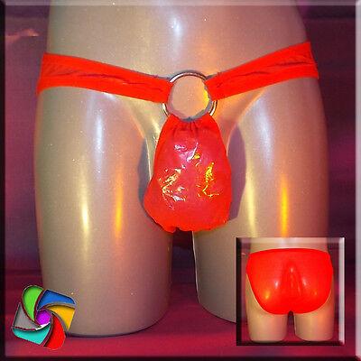 Slip mit Ring Transparent - Das erotische Etwas - Rosa (42) 4