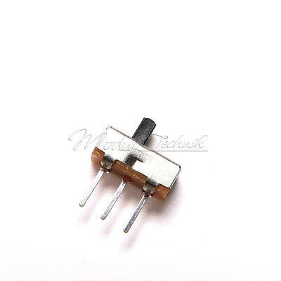20PCS 3Pin SS12D00G3 2 Position SPDT 1P2T PCB Panel Mini Vertical Slide Switch 2