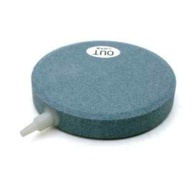 "AIR STONE 6"" 15cm (x6) HAILEA large round ceramic airstone hydroponic pond koi 4"