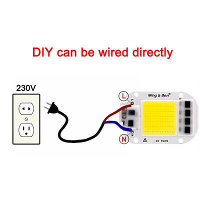 20W 30W 50W WarmWhite DIY Glühbirne LED Chip Glühbirne Perlen 60x40mm für flood 3