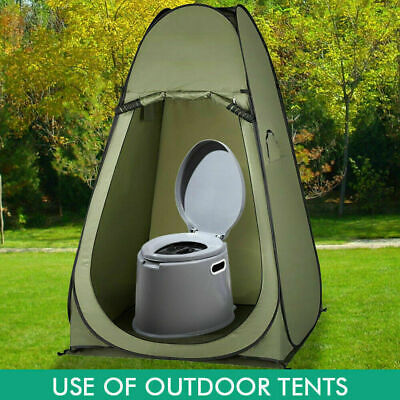 Outdoor Portable Toilet 6L Camping Potty Caravan Travel Camp Boating 8