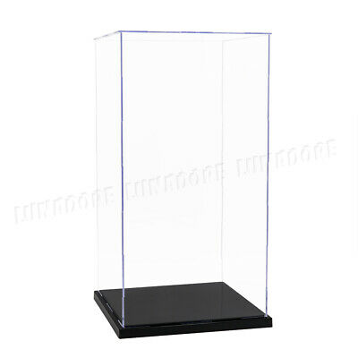 """Easy self-assembly Clear Acrylic Display Case Box 12/"""" 1//6 Scale Figures  37Cm H"""