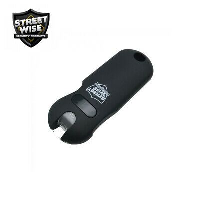 Streetwise SMART Keychain Stun Gun 24,000,000 w/Battery Status Indicator - Black 8