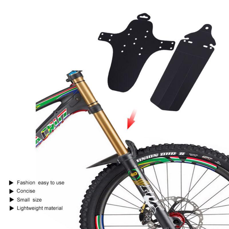 1 Set Cycling MTB Mountain Bike Front Rear Mud Guards Favor Mudguard Fend J2P8