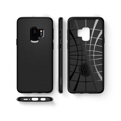 For Galaxy S9 / S9 Plus   Spigen® [Liquid Air] Slim Protective Case Cover 7