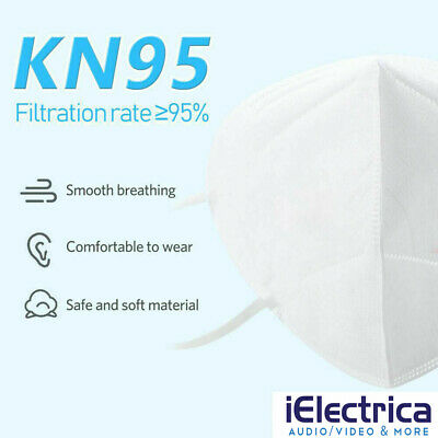 10 PCS KN95 Disposable Face Mask Mouth Cover Protective Respirator K N95 3