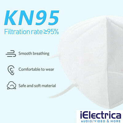 15 PCS KN95 Disposable Face Mask Mouth Cover Medical Protective Respirator K N95 3