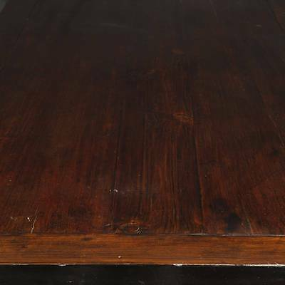 Antique Chinese Qing Dining Room Table Elm Wood Furniture Shanxi China 19Th C. 6
