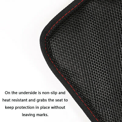 Car Seat Protector Thickest Padded Waterproof Back Seat Organizer Kick Mat Cover 10
