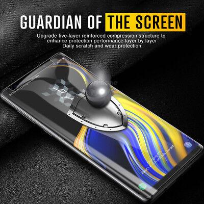 Galaxy S10 S9 S8 Plus e Note 9 8 NUGLAS Tempered Glass Screen Protector Samsung 3