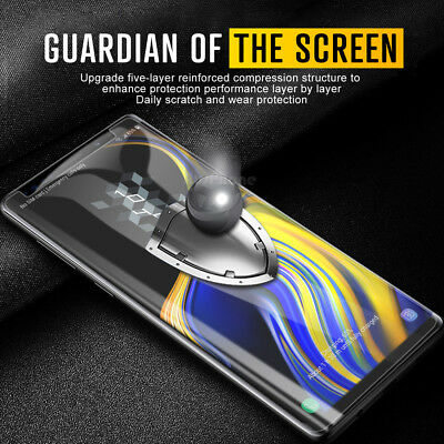 Samsung Galaxy S9 S8 Plus Note 9 8 NUGLAS Full Tempered Glass Screen Protector 2