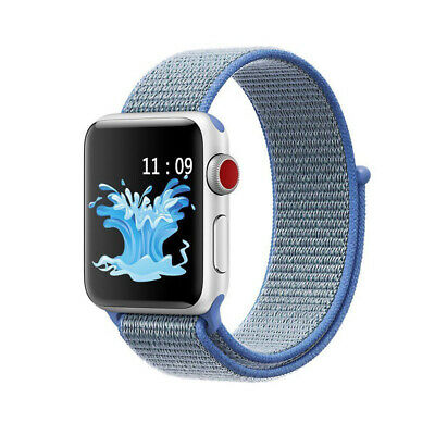 Sport Loop Band Nylon Strap For Apple Watch Series 4 3 2 1 42mm 38mm 44mm 40mm 12