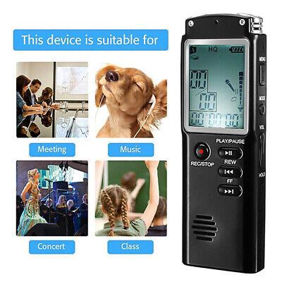 32G Voice Activated Mini Spy Digital Sound Audio Recorder Dictaphone MP3 Player 2