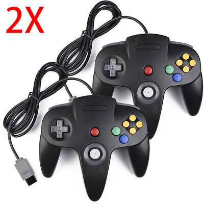Controller Joystick Gamepad Controllers for Classic N64 Console Video Games 1x2x 2